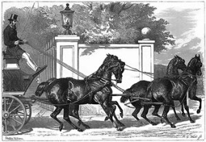 Four Horse Club: Four-in-Hand, Public Domain