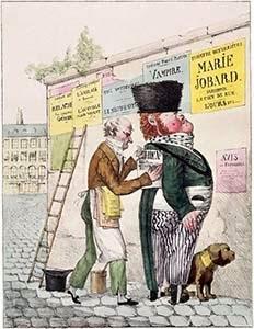 The Amusement of a Bill Sticker, Public Domain