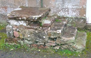 Old Horse-block or Mounting Block in Scotland, Courtesy of Wikipedia