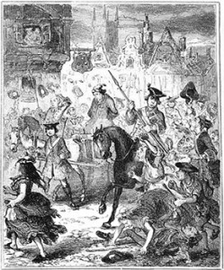 Jonathan Wild's Ride to Tyburn, Public Domain