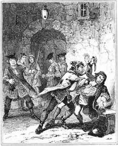 "Joseph ""Blueskin"" Blake's Attack on Jonathan Wild, Public Domain"