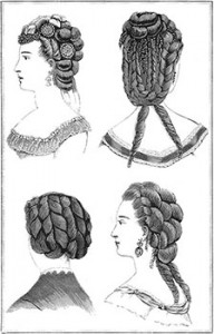 New Hairstyles for February, Author's Collection