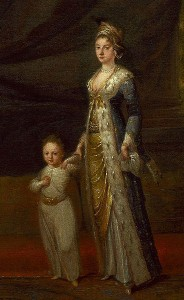 Lady Mary Wortley Montagu with Her Son, Courtesy of Wikipedia