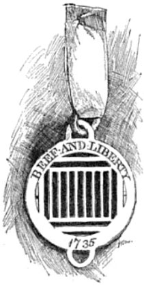 Ribbon and Badge, Public Domain