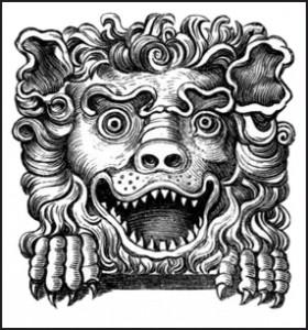 Lion's Head, Public Domain