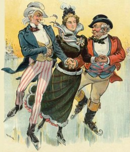 Puck Cover with John Bull and Uncle Sam, Author's Collection