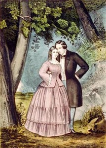 The Lover's Walk, Courtesy of Library of Congress