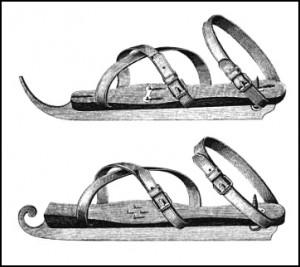English Skates, Public Domain