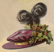 Ladies' Velvet Hat, Author's Collection