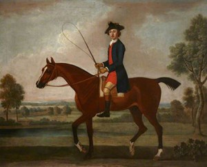 Equestrian Portrait of Sir Ralph Gore by Thomas Spencer, Courtesy of National Trust