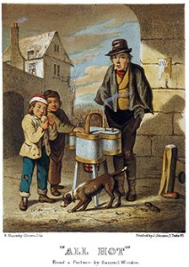 "Baked Potato Sellers and ""All Hot"" by Samuel Stanesby, Author's Collection"