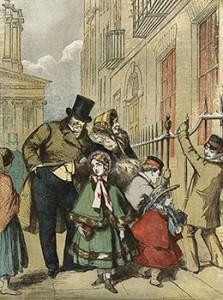 Returning From Church, Public Domain