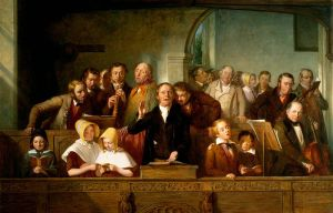 Church Etiquette: A Village Choir by Thomas George Webster in 1847, Courtesy of Wikipedia