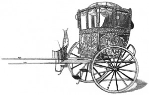 "Merlin's ""Unrivalled Mechanical Chariot"", Public Domain"