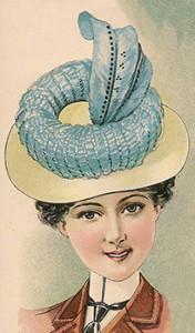 Stylish White Felt Hat, Author's Collection