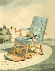 "Merlin's Mechanical ""Gouty"" Chair, Author's Collection"