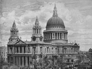 St. Paul's Cathedral, Courtesy of Wikipedia