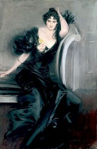 Lady Colin Campbell by Giovanni Boldini in 1897, Courtesy of Wikipedia