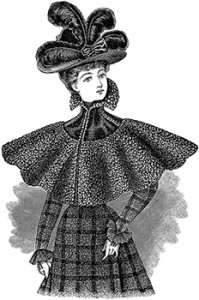 Ladies' Collarette with Collar Rolled Medici Fashion, Author's Collection