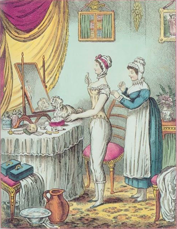 The Lady's Maid, Author's Collection