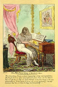 The Pig-Faced Lady by George Cruikshank, Courtesy of Wikipedia
