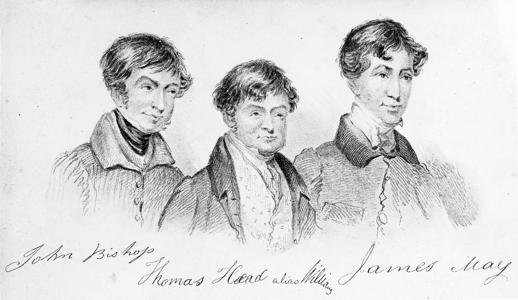 London Burkers - Bishop, Williams, and May