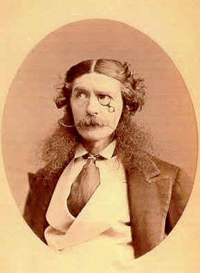 Edward Askew Sothern as Lord Dundreary with Dundreary Whiskers, Courtesy of Wikipedia