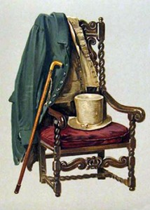 Cane and Clothing of Walter Scott, Public Domain