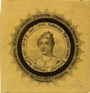 Mourning in the Georgian Era - Princess Charlotte