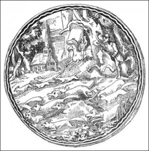 Engraved Lid of a Snuff-Box, snuff and snuff boxes