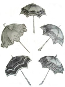 Parasol Fashions: A Variety of Parasols, Author's Collection