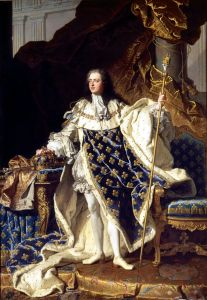 Louis XV and French Mourning