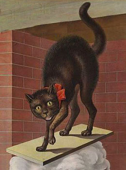 cats of the 1700s - tom cat