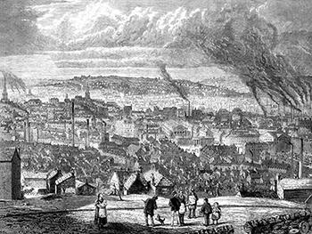 Sheffield, England, 1874, Public Domain