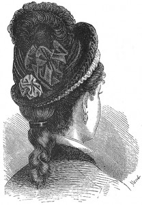 Black Silk Bonnet, Author's Collection