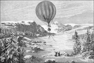 The Balloon Floating Away in Norway, Public Domain