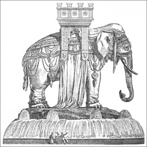 Fountain of the Elephant