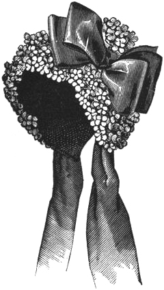 Ladies' Flower Bonnet, Author's Collection