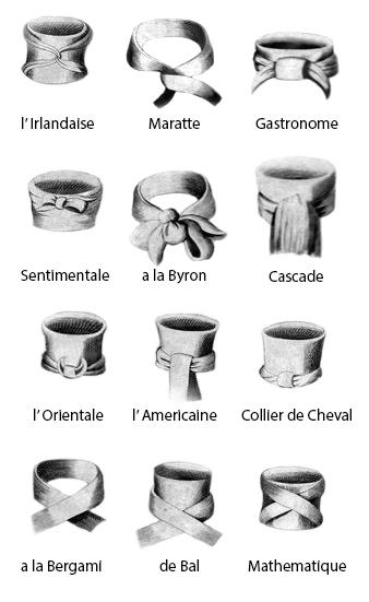 Cravat Tying Tips for the Georgian or Regency Gentleman ...