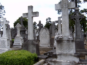 Glasnevin Cemetery 19th Century Gravestones, Burial Fraud, and