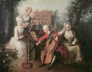 The Princess Amelia Sophia with her Siblings, Public Domain
