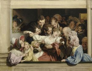The Effects of Melodrama - by Louis-Léopold Boilly, hysteria