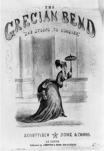 Cover for Grecian Bend Songs, Public Domain