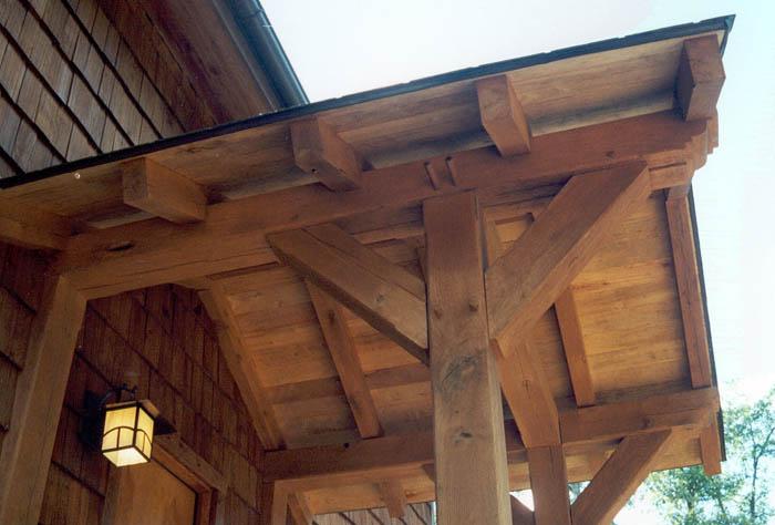 thoroughfares - timber porch