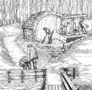 Stocking an Ice House, Courtesy of Wikipedia