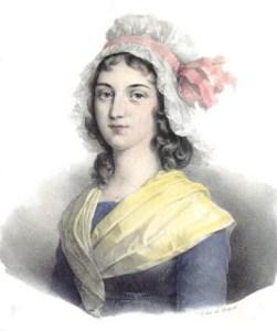 Charlotte Corday's head
