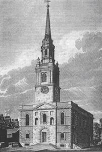 St. James's Church in 1806, Nicolas Steinberg