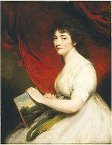 Mary Linwood c 1800, Courtesy of Wikipedia