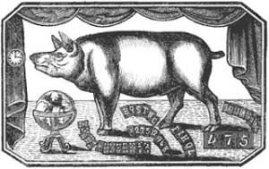 The Learned Pig, Public Domain