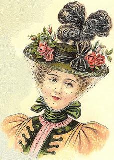 women's hats - ladies round hat